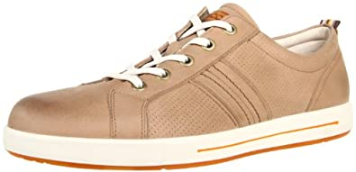 (狂降)ECCO 爱步男士真皮运动休闲鞋 Men's Androw Sneaker Bison $74.9
