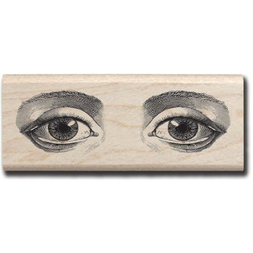 Hampton Art Expressions Rubber Stamps, Eyes - 1