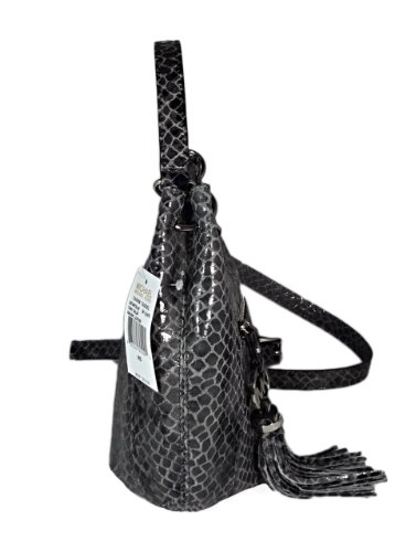 MICHAEL Michael KorsMichael Kors Charm Tassel Convertible Shoulder Crossbody Bag - Dark Slate