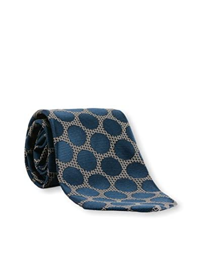 Tom Ford Men's Dot Silk Tie, Navy
