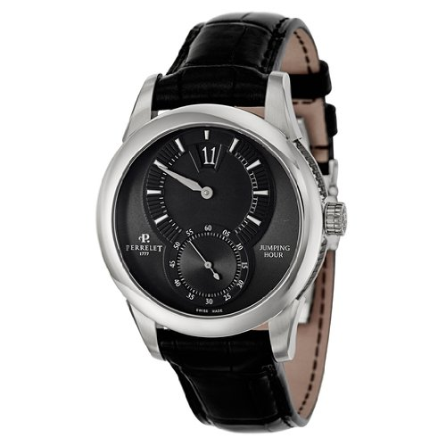 Perrelet Specialties Jumping Hour Men's Automatic Watch A1037-7
