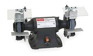 Dayton 2lkr6 Bench Grinder 6 In 1 3 Hp 115v 3 5 A Power Bench Grinders