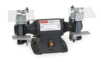 DAYTON 2LKR6 Bench Grinder,6 In,1/3 HP,115V,3.5 A