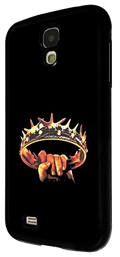 447 - Game Of thrones Crown Design Für Alle Samsung Galaxy S3 / Galaxy S3 mini / Galaxy S4 /Galaxy S4 Mini / Galaxy S5 / Galaxy S5 Mini / Galaxy S6 / Galaxy S6 Edge / Samsung Galaxy A3 / Galaxy A5 / Samsung Galaxy Galaxy Alfa / Galaxy Ace 4 / Samsung Galaxy Grand Prime Fashion Trend Hülle Schutzhülle Case Cover Metall und Kunststoff - Bitte wählen Sie Ihr Telefonmodell und Farbe aus der Dropbox