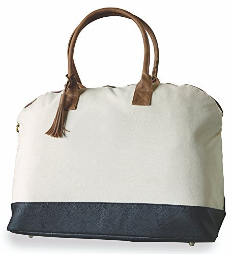 Mud Pie Chelsea Weekender Bag, C (Mud Pie Weekender Bag compare prices)