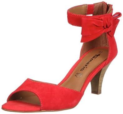 tamaris 1 1 28367 28 damen sandalen rot coral 563 eu. Black Bedroom Furniture Sets. Home Design Ideas