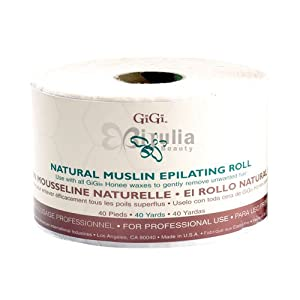 GiGi Natural Muslin Epilating Roll #0620 40 Yards