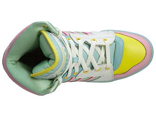 Adidas Originals X Jeremy Scott License Plate Miami,White Vapour,10.0 M US