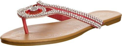 Odeon Women's Phoebe Pink Thong Sandals LP3331