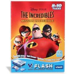 Imagen de VTech V.Flash Inicio Edutainment System - Smartdisc: Los Increíbles