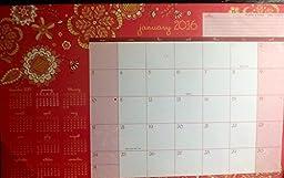 2016 Desk Pad Monthly Planner Calendar 11\