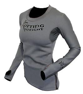 Kutting Weight (cutting weight) neoprene weight loss sauna shirt (Women's L)
