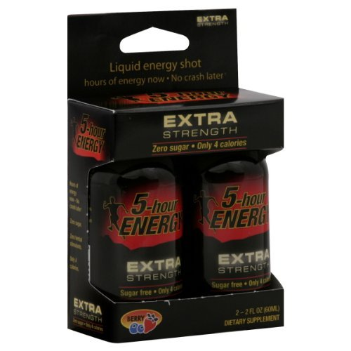 Living Essentials Extra Strength 5-Hour Energy Drink, Model:710825 - 2 Oz/Bottle, 2 Ea