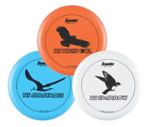 franklin-sports-disc-golf-3-disc-pro-starter-set-with-driver-midrange-putter
