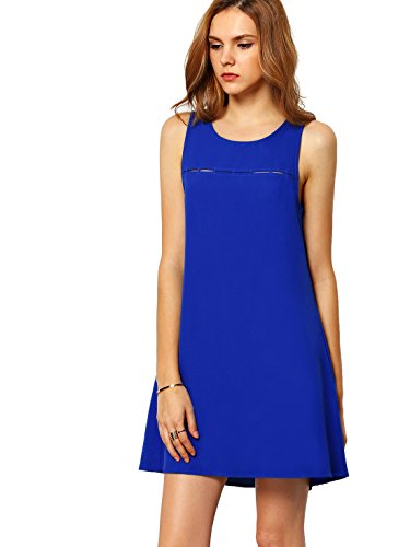 ROMWE-Womens-Summer-Casual-Sleeveless-Crew-Neck-Cocktail-Party-Dress