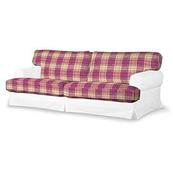 4-tlg. Sofa-Bezug-Set Mirella Farbe: Rosa / Beige