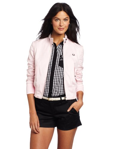 Fred Perry Women's Cropped Harrington Jacket,