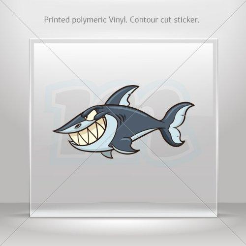 Decals Sticker Shark Attack Car Door Hobbies Waterproof Racing Durable Racing Motorbike 0500 Xr384 front-405905