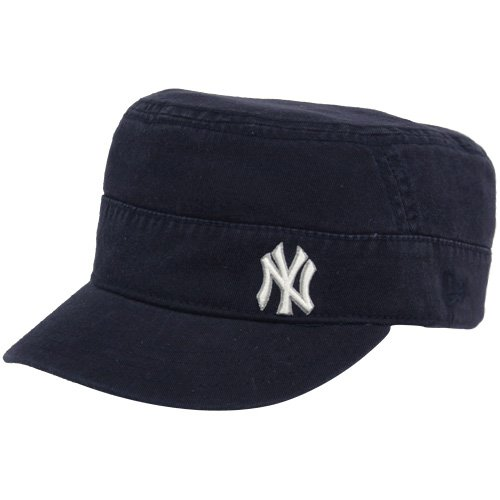 New Era New York Yankees Ladies Navy Blue Adjustable Military Hat Feature 1e1d95af8a2d