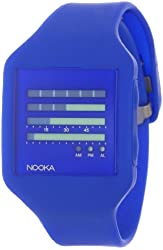 Nooka Unisex ZUB-ZENH-DB-20 Zub ZenH Deep Blue Polyurethane Watch
