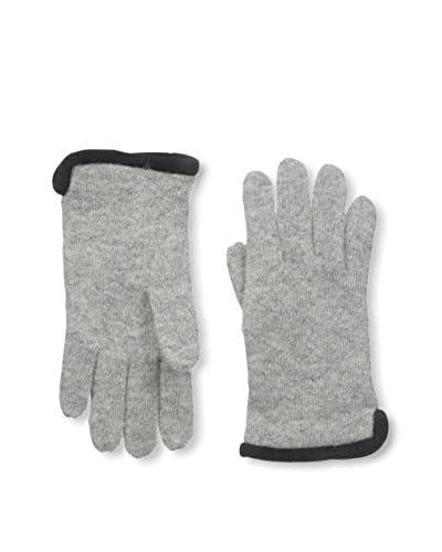 Portolano Women's Winter Glove, Light Grey/Black