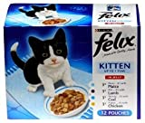 Felix Kitten Meat & Fish Selection 48 X 100G