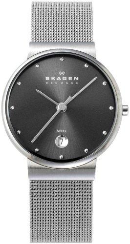 SKAGEN (スカーゲン) 腕時計 basic steel ladys 355SSSM ケース幅: 26mm レディース [正規輸入品]
