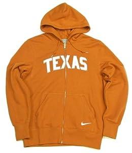 Texas Longhorns Full Zip Mens Hooded Jacket by NikeNCAA