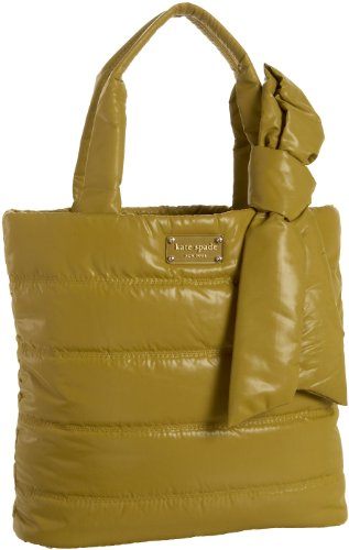 Kate Spade Puffer Evonne Tote,Split Pea,one size