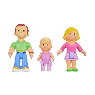 Fisher Price My First Dollhouse: Caucasian Family