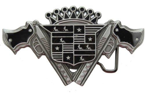 Hogar Zinic Alloy Opener Belt Buckle Crown Guns Girls Buckles Color Black