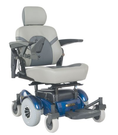 Golden Technologies Golden Compass Power Chair In Blue With Proflex Seat