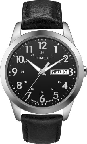 Timex Men's T2N107 Casual Dress Strap Watch
