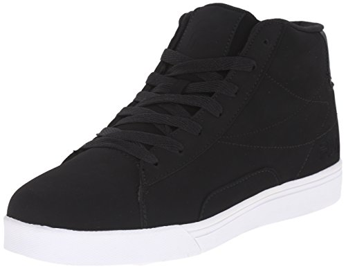 Fila Men's Formation Fashion Sneaker, Black/White, 12 M US
