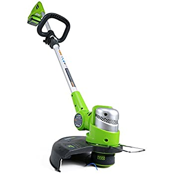 Greenworks 12-Inch 24V Cordless String Trimmer, 2.0 AH Battery Included 21342