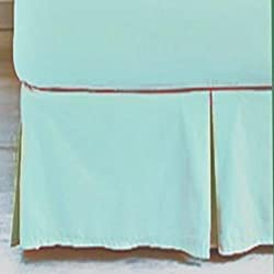 "Martha Stewart Collection ""360 Thread Count"" Solid Bedskirt, Twin Stream"