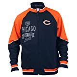 NFL Mock Neck Full Zip Sweat Shirt / Jacket - Chicago Bears - Medium at Amazon.com