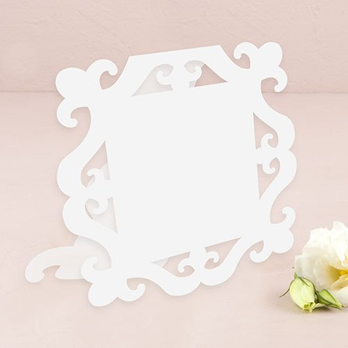 Laser-Expressions-Large-Square-Baroque-Frame-Folded-Signage-White