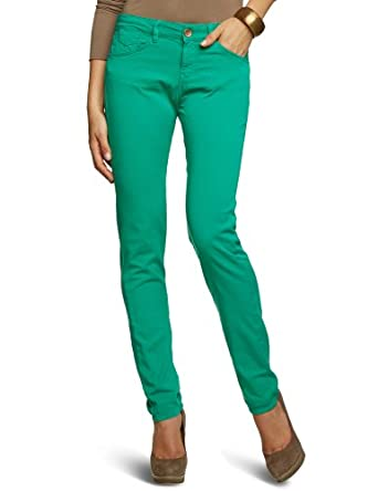 Mexx - Jean - Skinny/Slim Fit - Femme- Vert (392) - FR : 29W (Taille fabricant : 29)