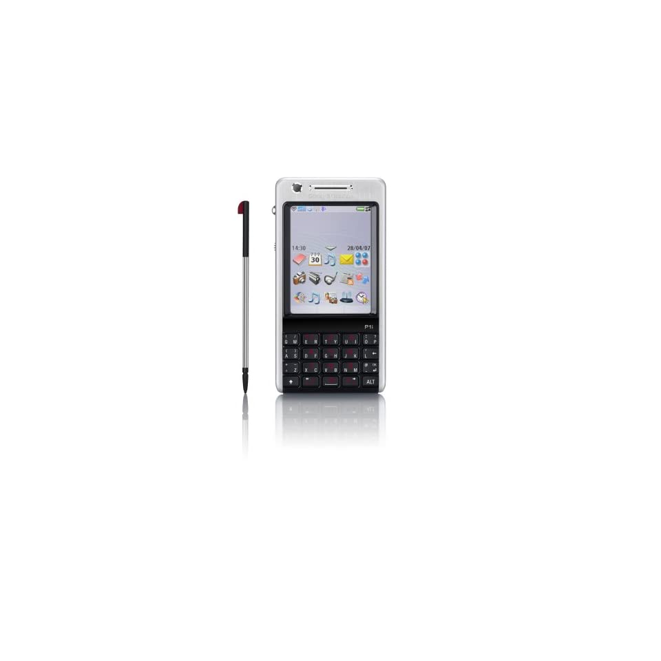 Sony Ericsson P990i Unlocked Cell Phone with 2 MP Camera, 3G, /Video Player, Memory Stick Pro Duo Slot  International Version with No Warranty (Premium Silver)