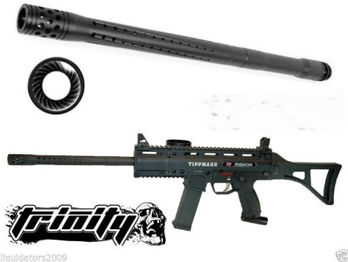 "Trinity Paintball Accurate Rifle Barrel 16"" Long For Tippmann A5 Paintball Gun, Tippmann A-5 Paintball Gun Rifle Barrel, Tippmann X7 Paintball Gun, Tippmann X-7 Paintball Gun Barrel, Tippmann Phenom, Tippmann X7 Phenom Paintball Gun Barrel, Bt Combat Barr"