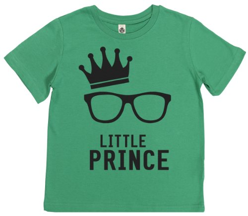 Phunky Buddha - Little Prince Kid'S Unisex T-Shirt 7-8 Yrs - Green front-1059950