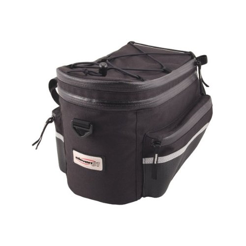 Eleven81 State Line Trunk Rack Bag Black