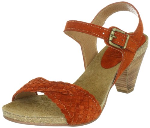 Wonders H9201, Damen Sandalen/Fashion-Sandalen, Orange (teja), EU 42