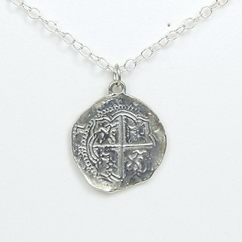 pirate-pieces-of-eight-coin-necklace-pewter-replica-of-spanish-coin-handcrafted-in-usa