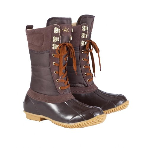 Joules Carrick Womens Muck Boots - Saddle - 3
