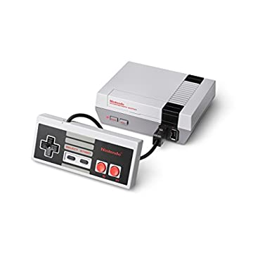Nintendo NES Classic Edition with 30 Pre-loaded Games, Classic Controller