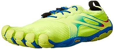 Vibram Men's Bikila EVO Road Running Shoe, Yellow/Blue/Teal,40 EU/8.5-9 M US