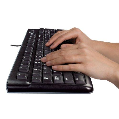 logitech desktop mouse and keyboard combo 920 002565 mk120. Black Bedroom Furniture Sets. Home Design Ideas