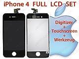 Full LCD + Touchscreen f�r iPhone 4 schwarz#6
